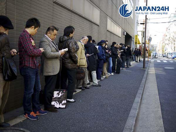 Văn hóa xếp hàng người XKLĐ Nhật Bản cần nhớ